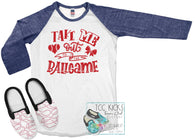 TAKE ME OUT TO THE BALL GAME BASEBALL *SUBLIMATION*