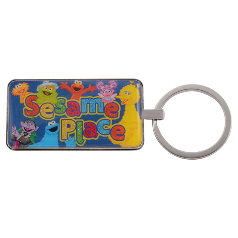 Sesame Place Character Glitter Key Chain