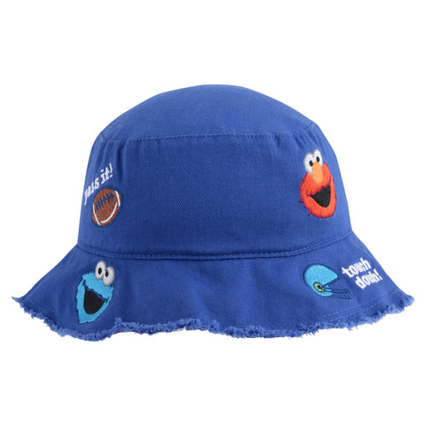 Elmo, Oscar and Cookie Monster Sport Toddler Bucket Hat