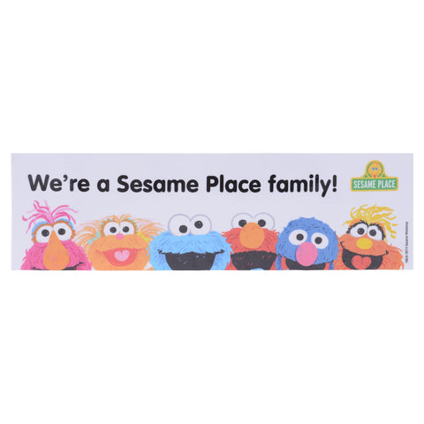 We Are A Sesame Place Family Magnet