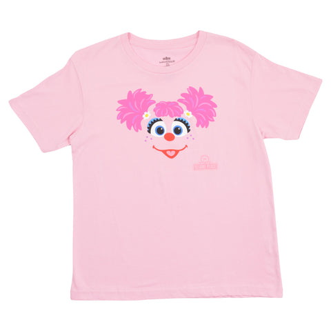 Sesame Place Abby Big Face Youth T-Shirt