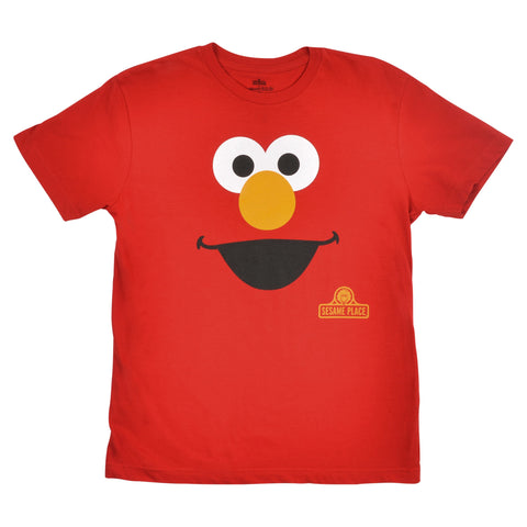 Sesame Place Elmo Big Face Youth T-Shirt