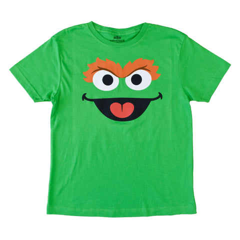 Oscar Monster Big Face Youth T-Shirt