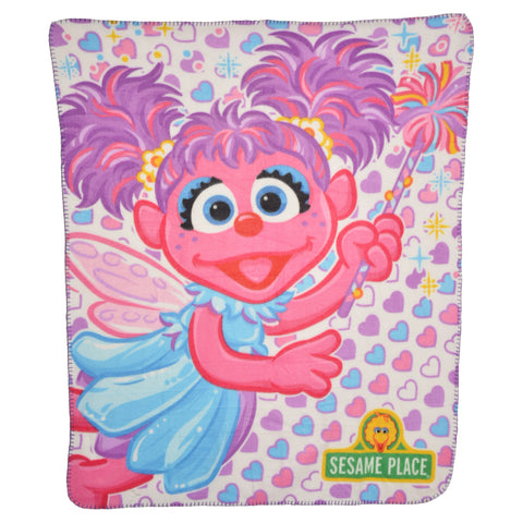 Abby Heart Fleece Blanket