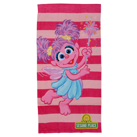 Abby Cadabby Striped Beach Towel