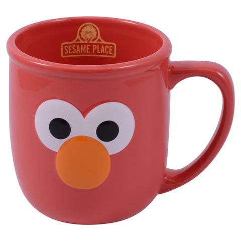 Elmo Large Eye Mug
