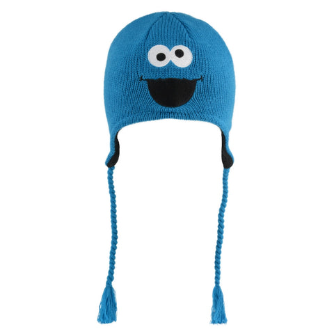 Cookie Monster Adult Knit Hat