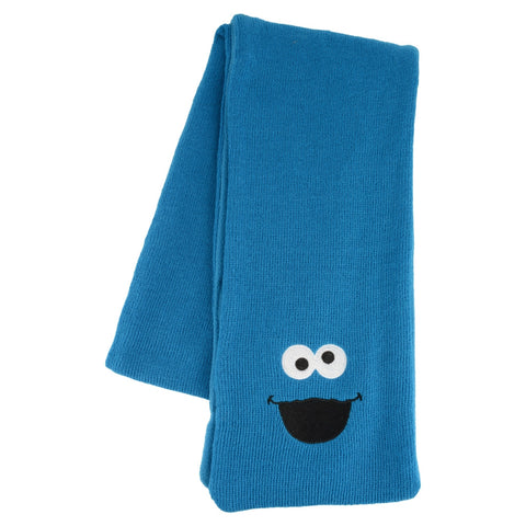 Cookie Monster Adult Knit Scarf