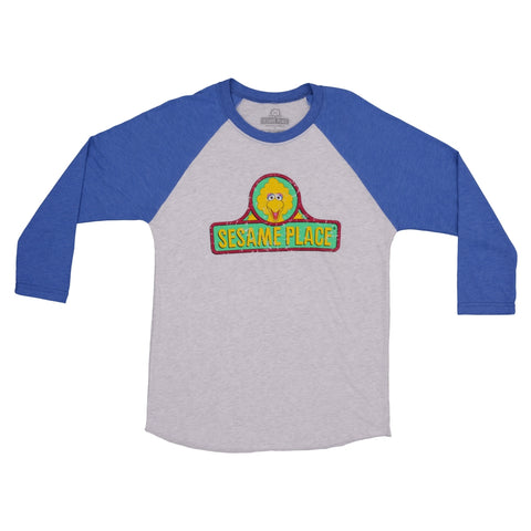 Sesame Place Throwback Raglan Adult T-Shirt