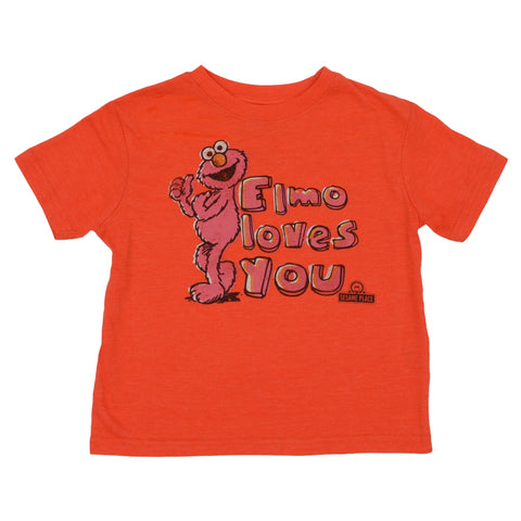 Elmo Vintage Love You Toddler T-Shirt