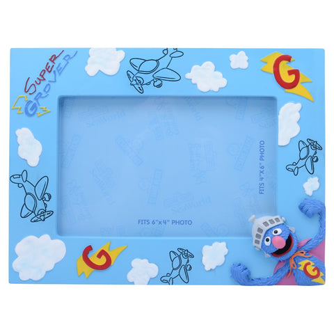 Super Grover Icon 4 x 6 Picture Frame