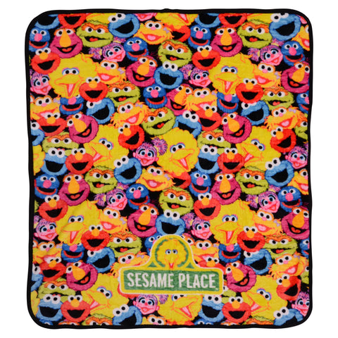 Character Collage Fleece Blanket