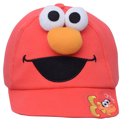 Elmo Big Face Toddler Baseball Cap