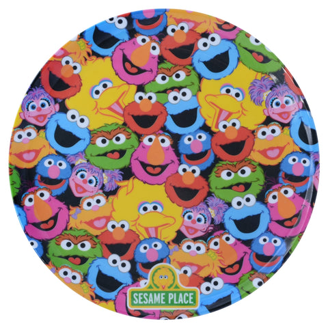 Character Collage Melamine Plate