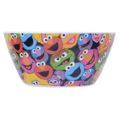 Character Collage Melamine Bowl
