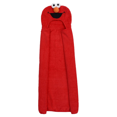 Elmo 3D Hooded Towel