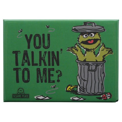 Oscar You Talkin' To Me Vintage Magnet