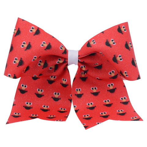 Elmo Big Face Hair Bow