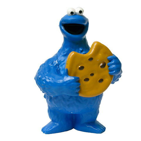 Cookie Monster Figurine 2.5""