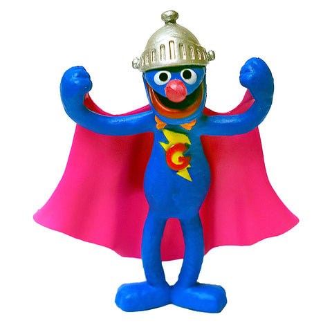 Super Grover Figurine 2.5""