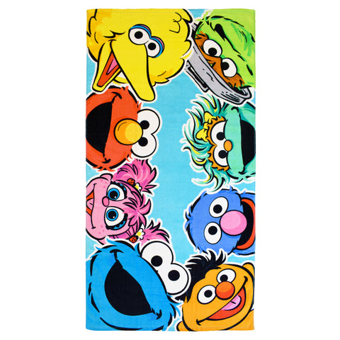 Peeking Character Beach Towel