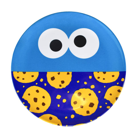 Cookie Monster Big Face Melamine Plate