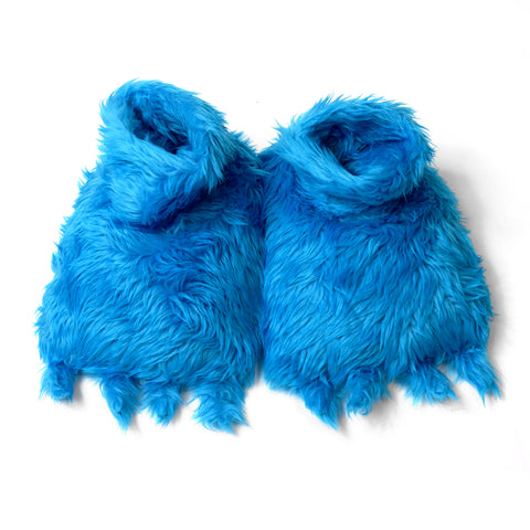 Cookie Monster Adult Slippers