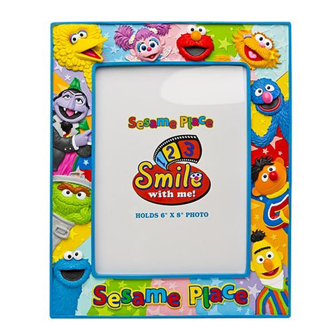 Sesame Place Multicolor Character 6 X 8 Photo Frame