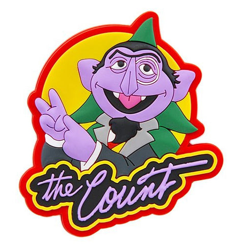 Sesame Place The Count Silicone Magnet