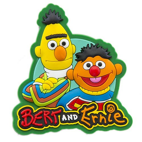 Sesame Place Bert and Ernie Magnet