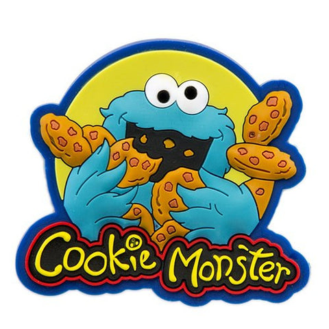Sesame Place Cookie Monster Silicone Magnet