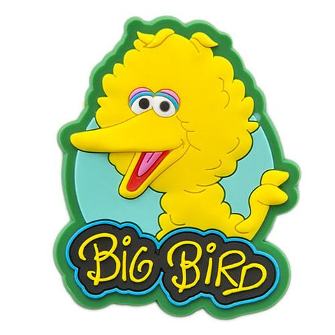 Sesame Place Big Bird Silicone Magnet