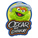 Sesame Place Oscar Silicone Magnet