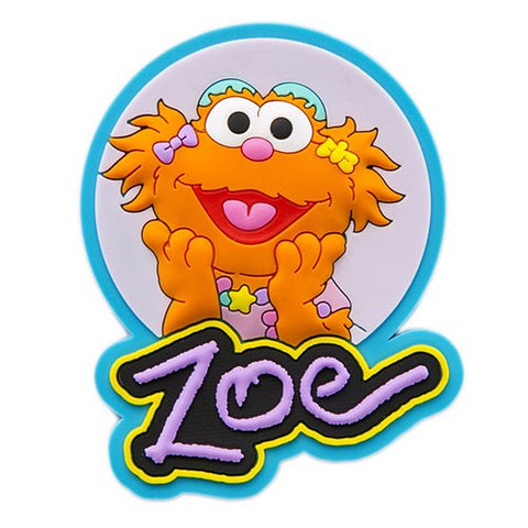 Sesame Place Zoe Silicone Magnet