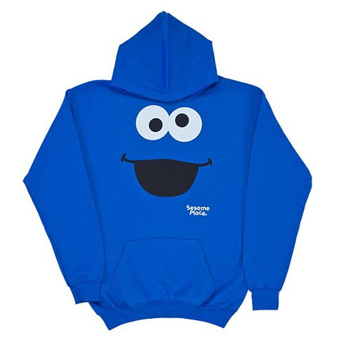 Sesame Place Cookie Monster Big Face Adult Fleece