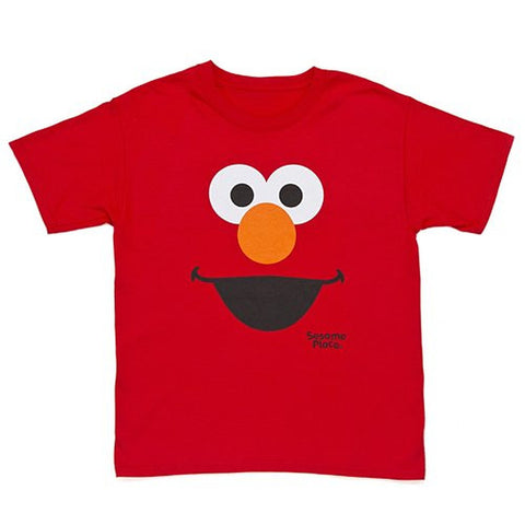 Sesame Place Elmo Big Face Adult T-Shirt