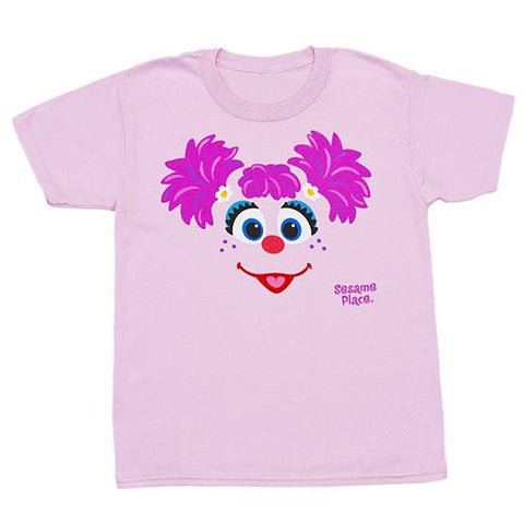 Sesame Place Abby Big Face Adult T-Shirt