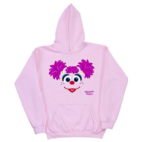 Sesame Place Abby Big Face Adult Fleece