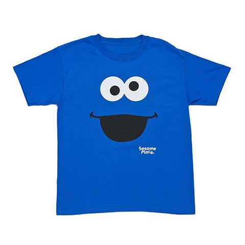 Sesame Place Cookie Monster Big Face Youth T-Shirt