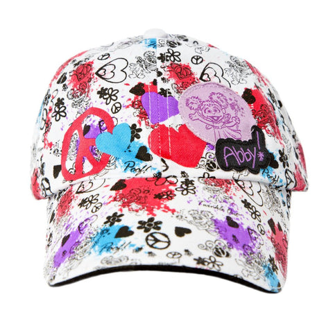 Sesame Place Abby Peace Youth Hat