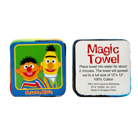 Sesame Place Bert and Ernie Magic Towel