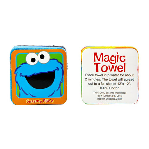 Sesame Place Cookie Monster Magic Towel