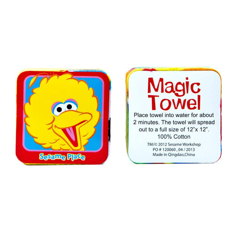 Sesame Place Big Bird Magic Towel