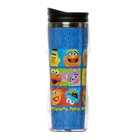 Scribble Art Travel Mug