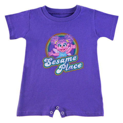 Sesame Place Abby Cadabby Retro Infant Romper