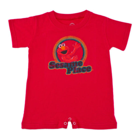 Sesame Place Elmo Retro Infant Romper