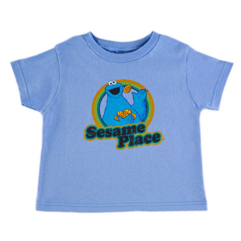 Cookie Monster Retro Toddler T-Shirt