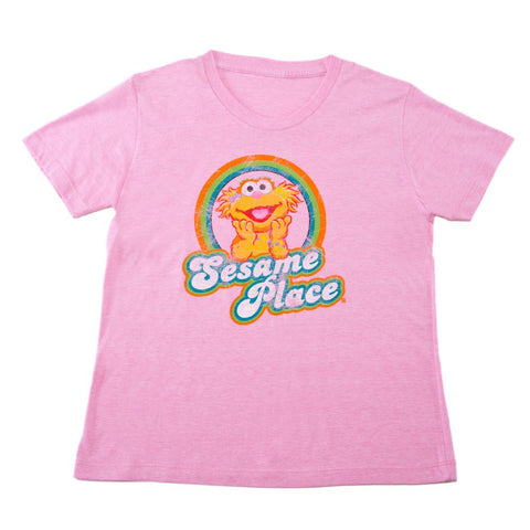 Zoe Retro Toddler T-Shirt