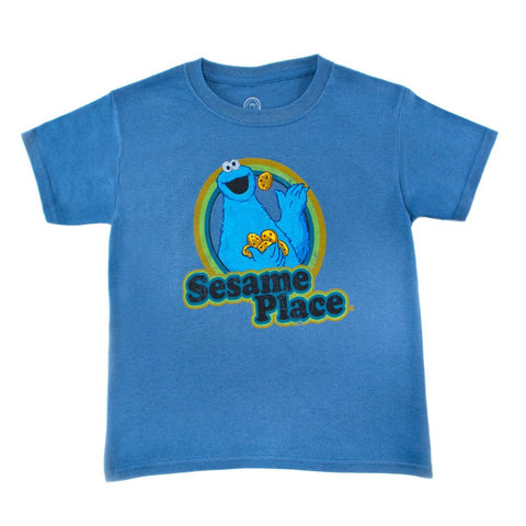 Cookie Monster Retro Youth T-Shirt