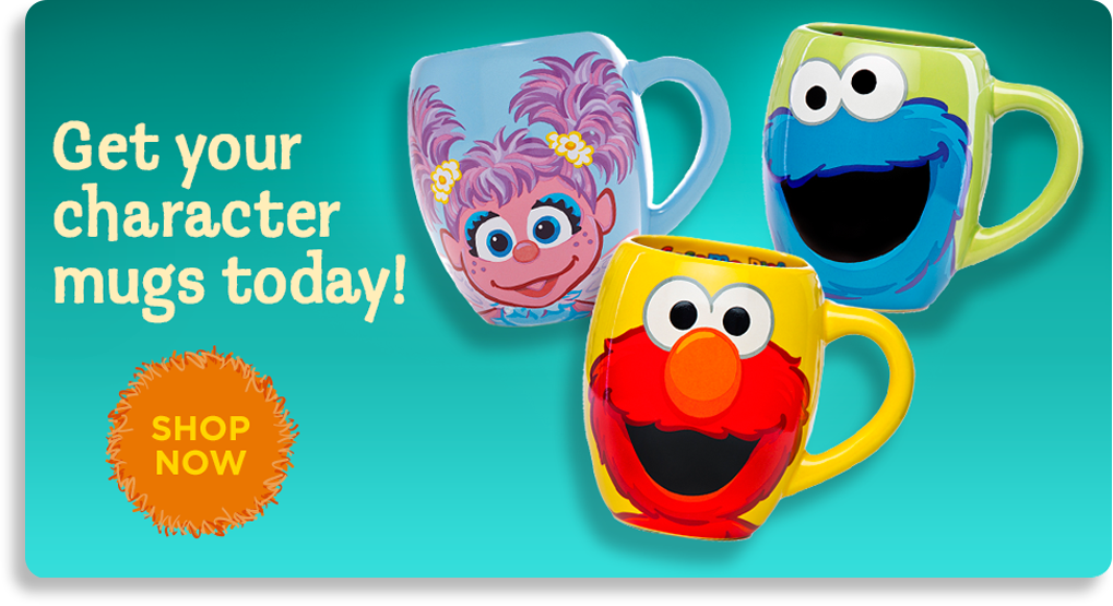 Get your character mugs today!